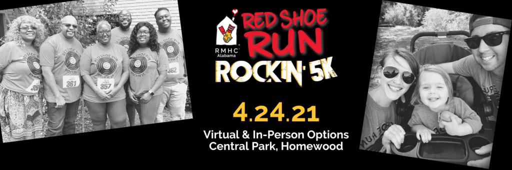 Red Shoe Run Banner