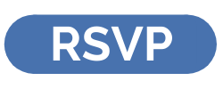 Oblong blue button with white text RSVP